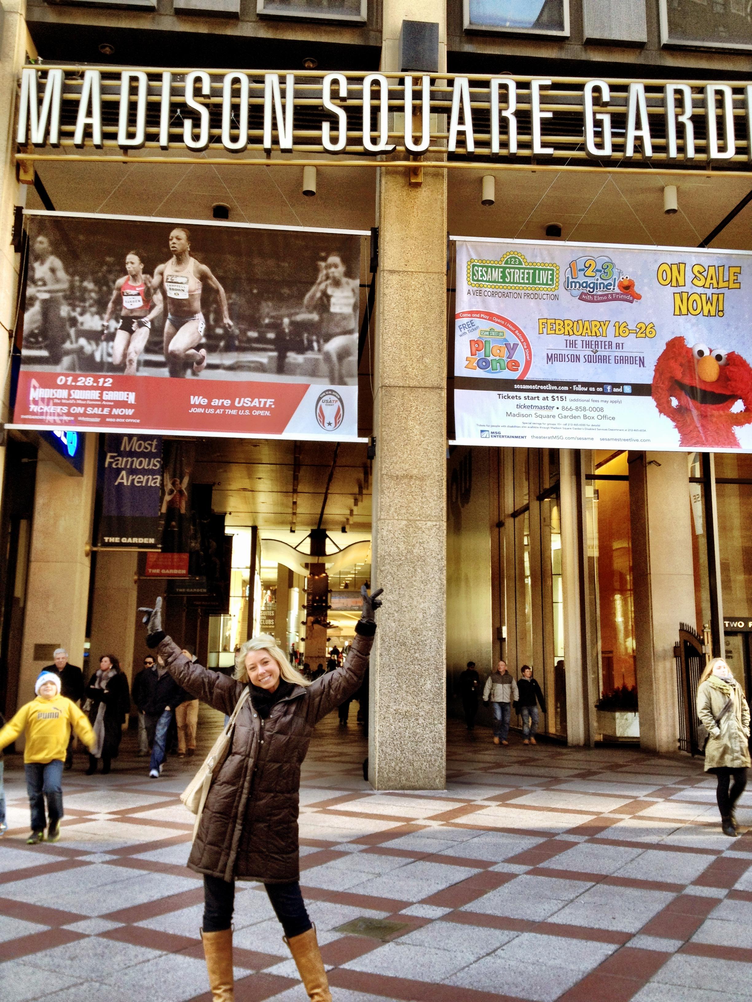 Madison Square Garden Lindsay Cash